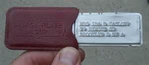 Metal Charge Plate