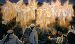 Angels Announce Jesus